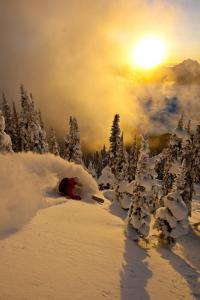 Soleil ski hors piste