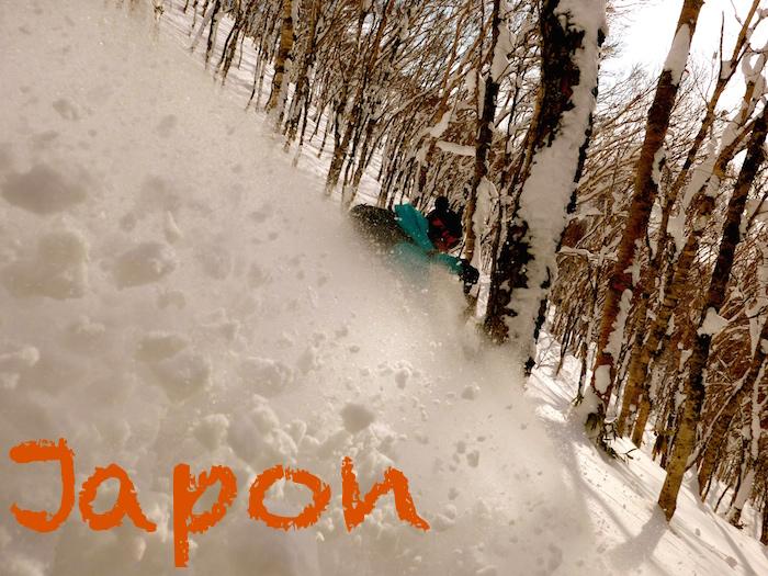 hors piste ski japon