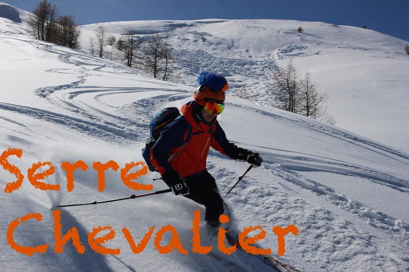ski hors piste Serre chevalier