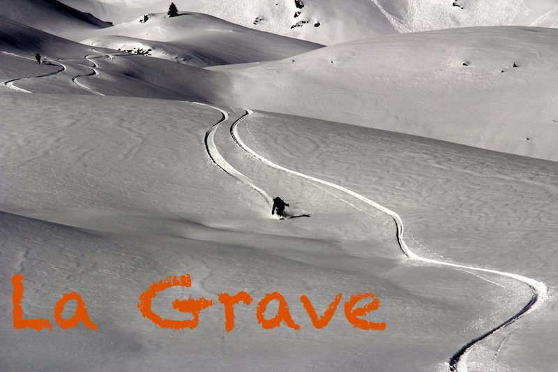 ski Hors piste la grave